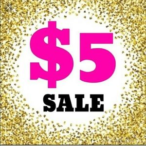 $5 items all over my closet! 3+ + = 20% MORE OFF!